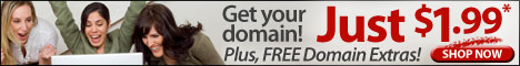 Register Domain Names for as low as $1.99*/year - *with any  new, non-domain purchase - No Quantity Limit!