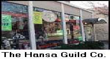 THE HANSA GUILD SHOP and STORE where you can physically go in and buy your moccasin shoes, slippers, and ugg-pug boots, shearlings, leather and wool-felt hats, and sheepskin moccasins and rugs.  Call us and we will ship your moccasins anywhere in the USA, European Union, and most countries in the world