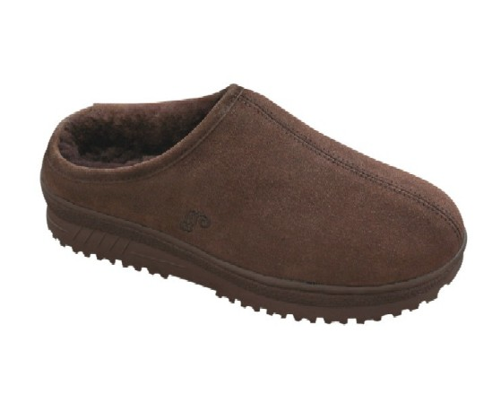 Men s Sheepskin Clog Slippers